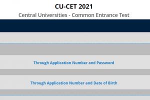 CU - CET Exam 2021