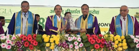 The eighth convocation was held at GLA University, Mathura.