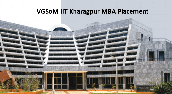 VGSOM IIT Kharagpur Final MBA Placement Report 2021