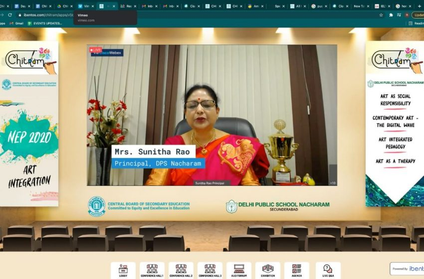 CBSE, in association with DPS Nacharam, promotes art by hosting workshop CHITRAM3 min read