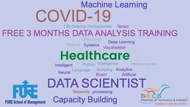 Free Workshop on Intelligent Healthcare AnalyticsFORE School in association with BRICS-CCI offers free training programme