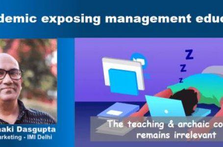How relevant is Management education in the online world ?