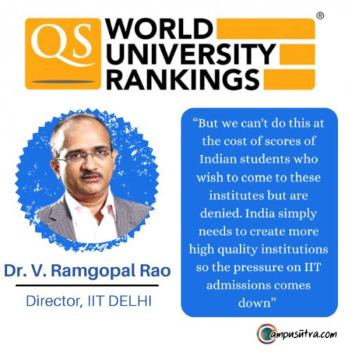 Why Indian Institutions aren't figuring prominently at World Rankings