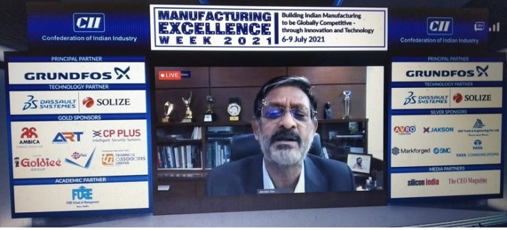 CII Manufacturing Excellence Week 2021