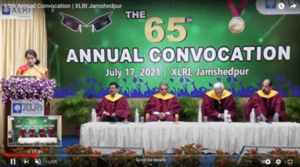 XLRI celebrates 65th Annual Convocation